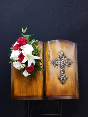 Funeral - Bible Easel